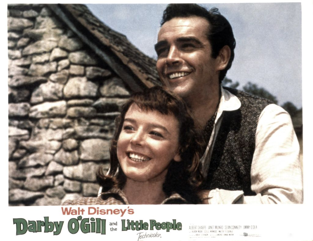 Janet Munro and Sean Connery