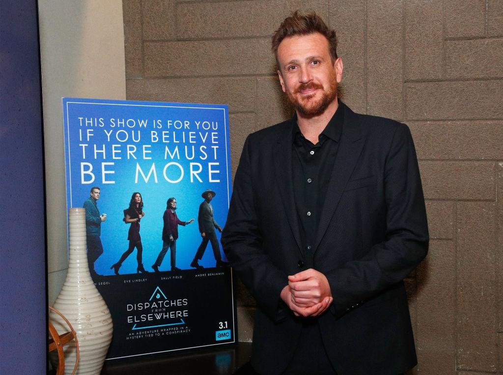 Author actor Jason Segel