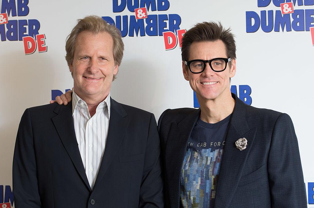 Jeff Daniels and Jim Carrey