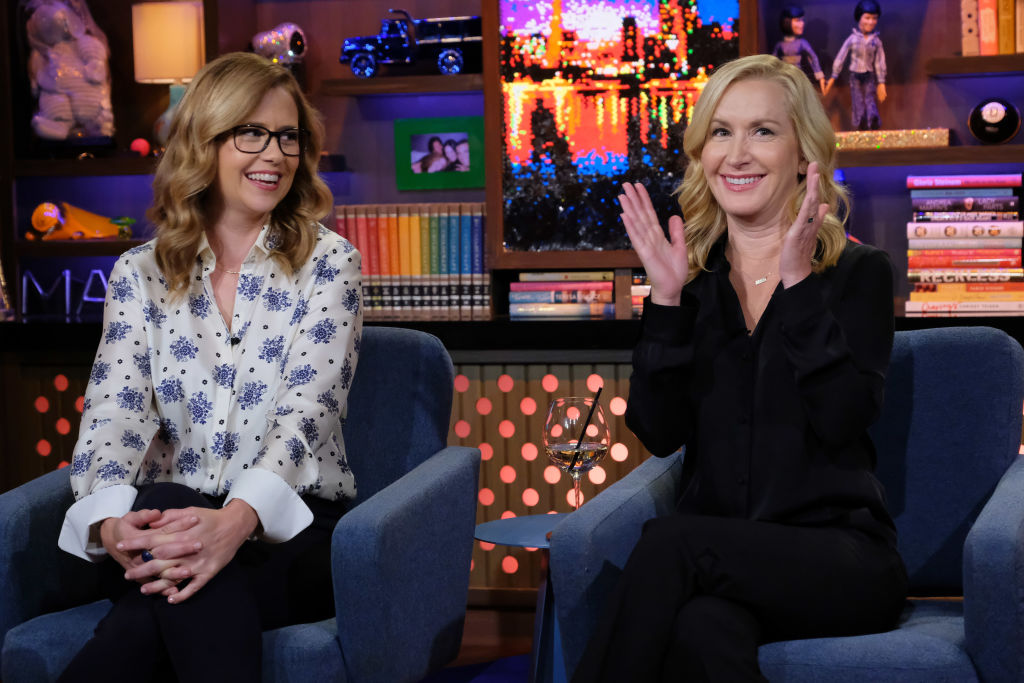 Jenna Fischer, Angela Kinsey on 'Watch What Happens Live'