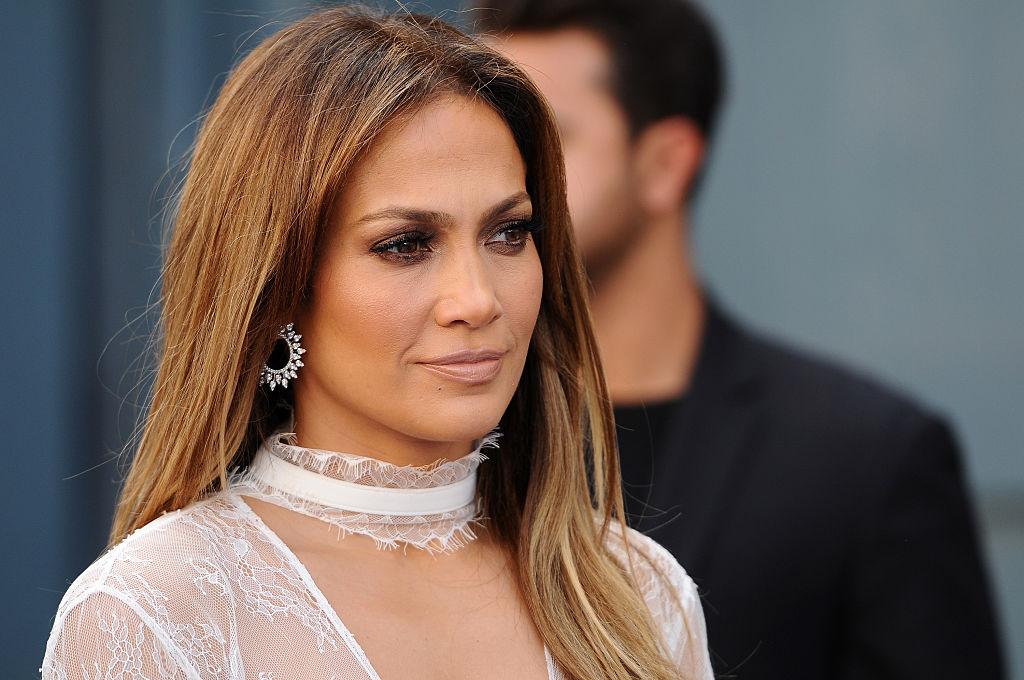 Jennifer Lopez at a movie premiere in 2016