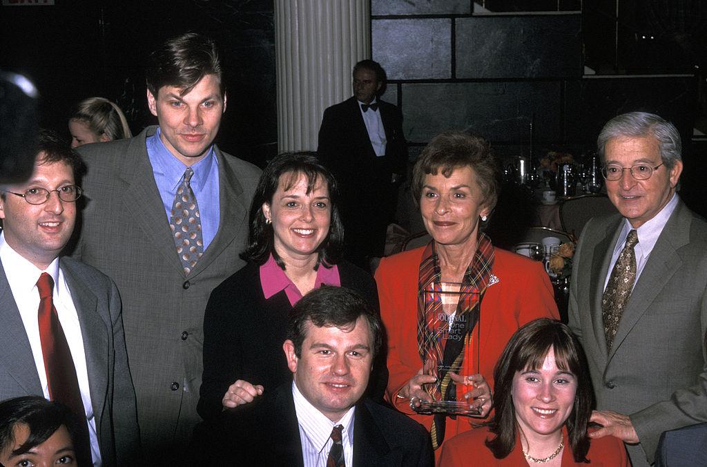 Judy Sheindlin, Jerry Sheindlin, and family
