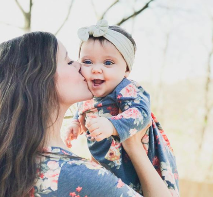 Jessa Duggar and her daughter, Ivy