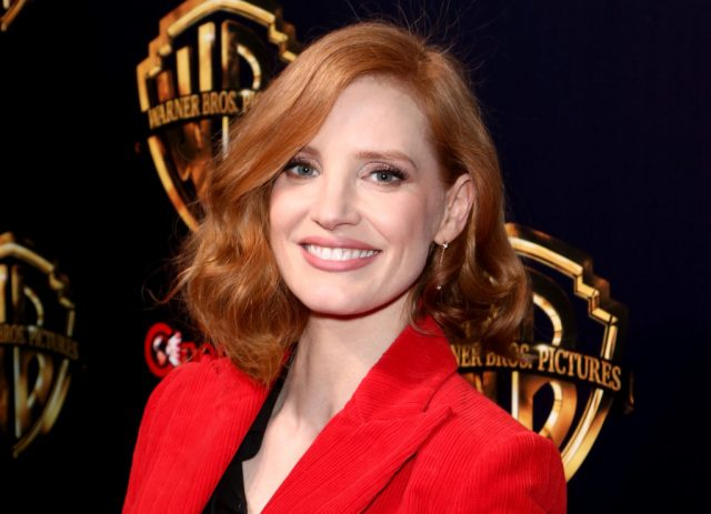 Jessica Chastain attends the premiere of 'The Big Picture' on April 2, 2019