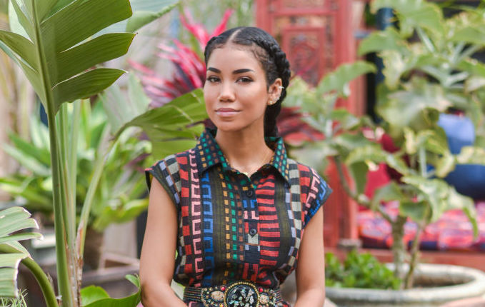 Jhené Aiko at an event in May 2018