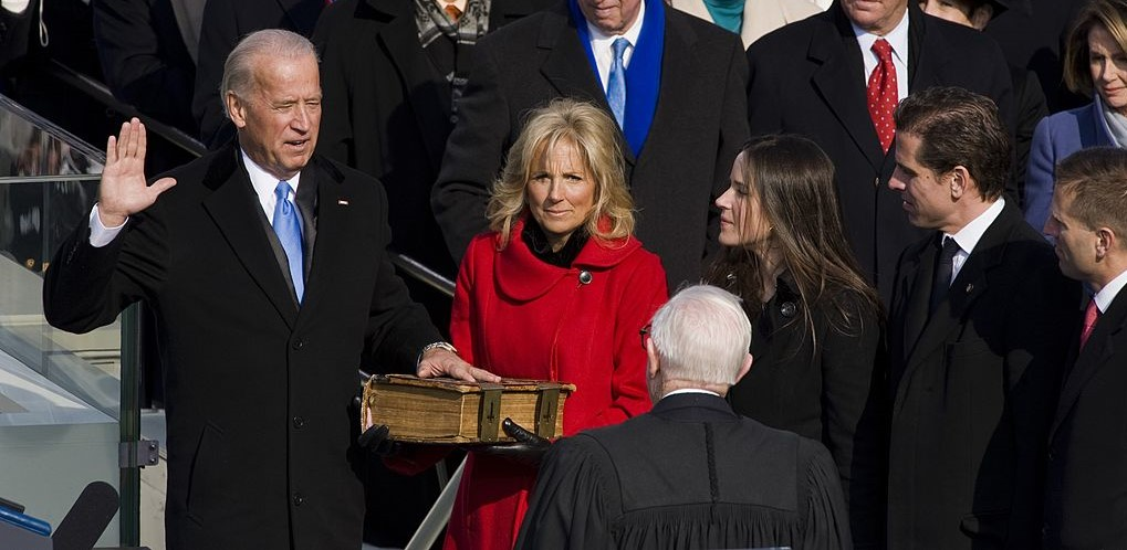 Joe Biden, Jill Biden, Ashley Biden, Hunter Biden, and Beau Biden