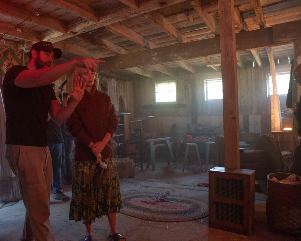 John Krasinski directing A Quiet Place Part II