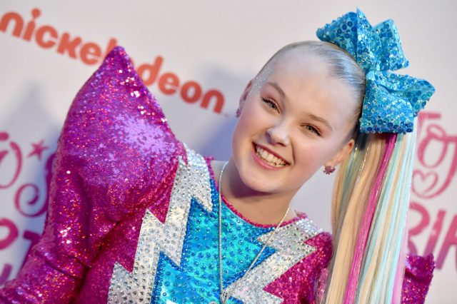 JoJo Siwa on April 9, 2019