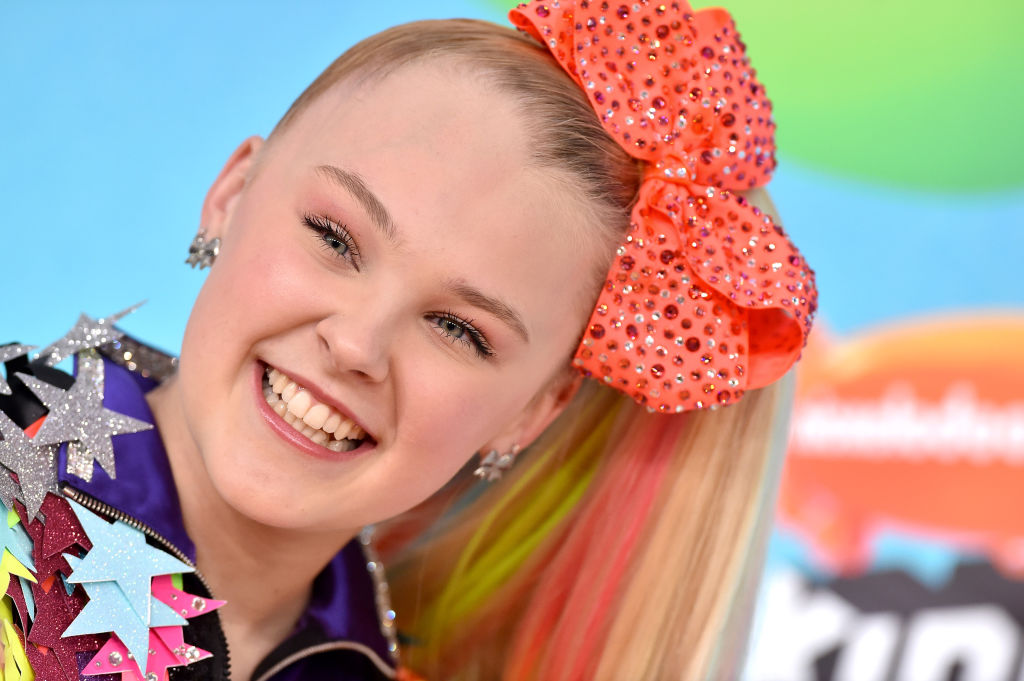 JoJo Siwa on the red carpet in March 2019