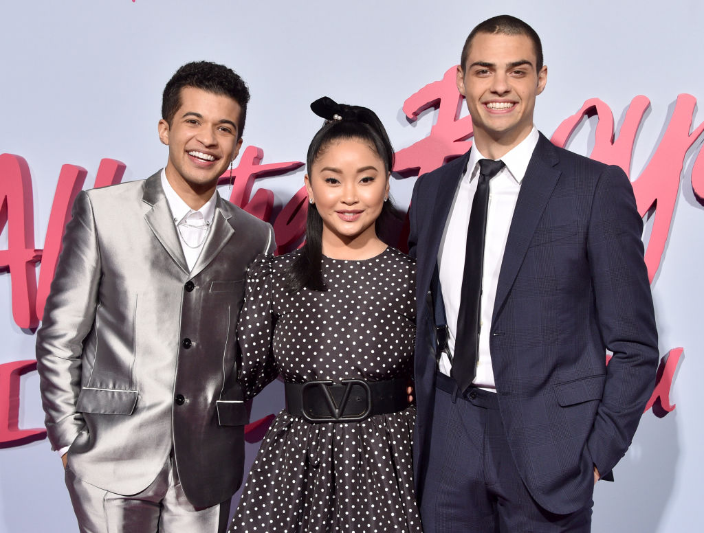 Jordan Fisher, Lana Condor, and Noah Centineo of 'To All The Boys: PS I Still Love You'
