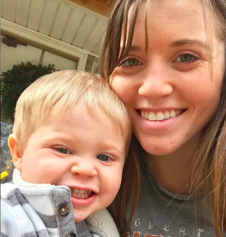 Joy-Anna Duggar's Followers Are Freaking Out After an Instagram Post Shows Her Son Near Power Tools