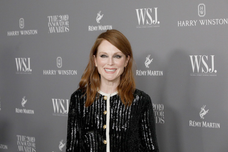 Julianne Moore on the red carpet