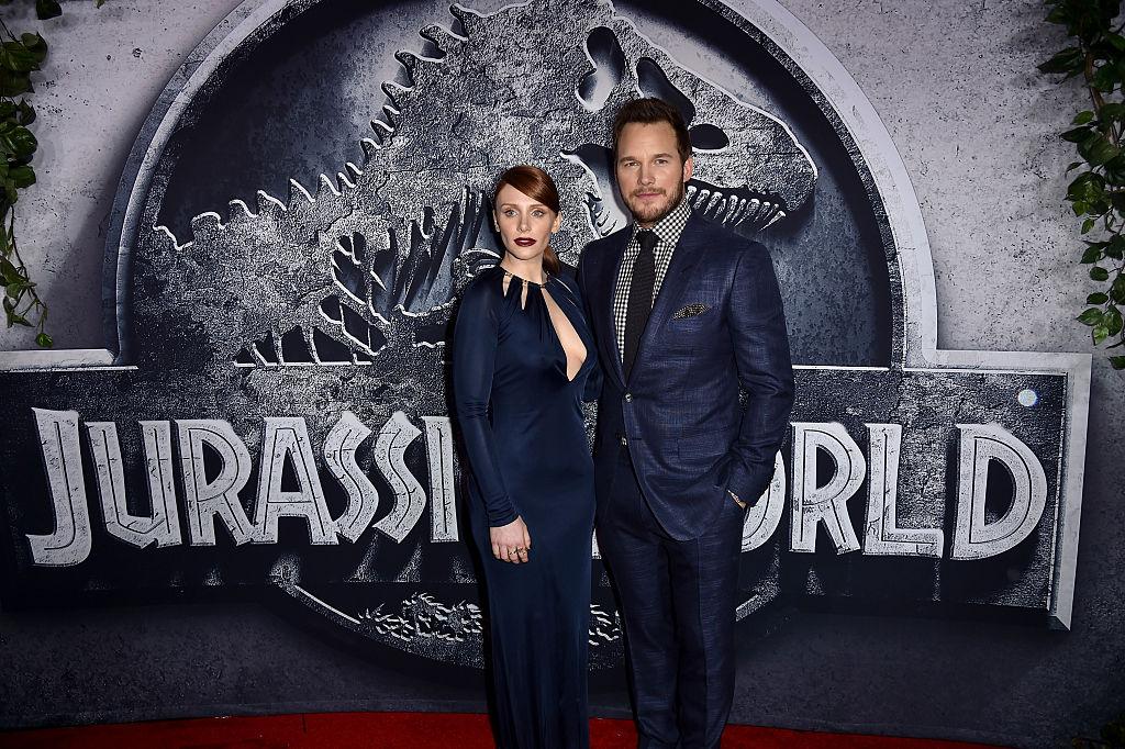 Jurassic World Chris Pratt and Bryce Dallas Howard