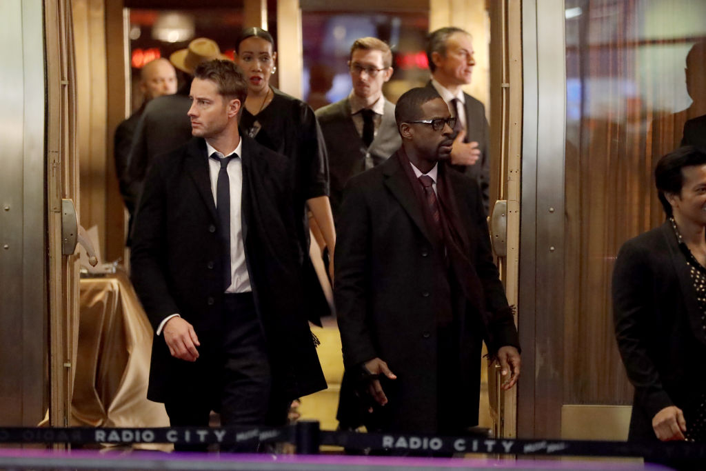 Justin Hartley as Kevin and Sterling K. Brown as Randall on 'This Is Us' - Season 4
