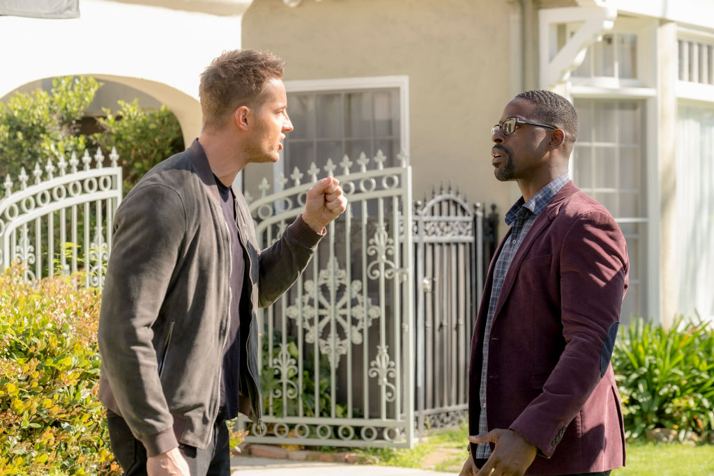 Justin Hartley as Kevin and Sterling K. Brown as Randall on 'This Is Us' Season 4 finale