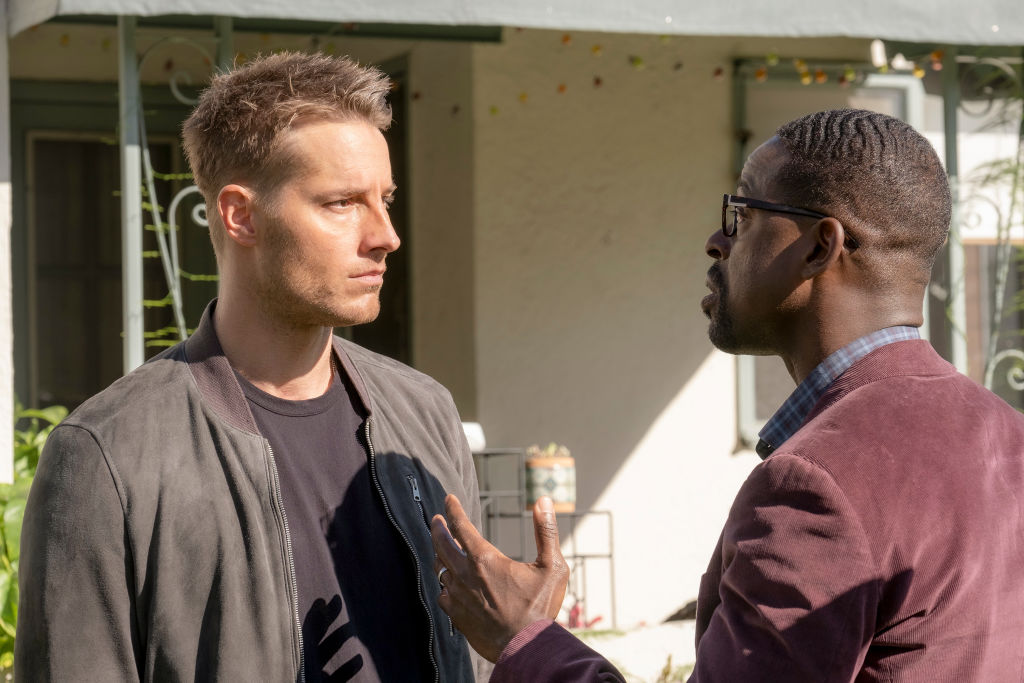 Justin Hartley and Sterling K. Brown This Is Us season finale