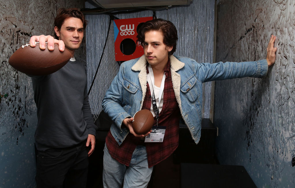 K.J. Apa and Cole Sprouse