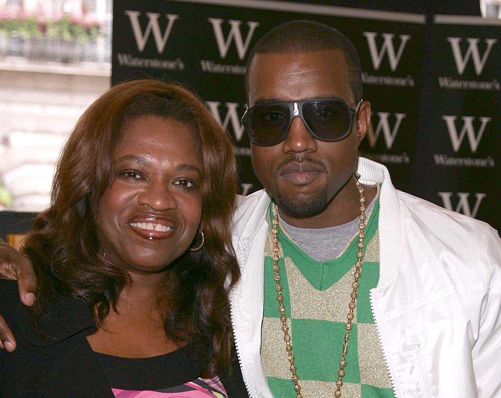 Kanye and Donda West