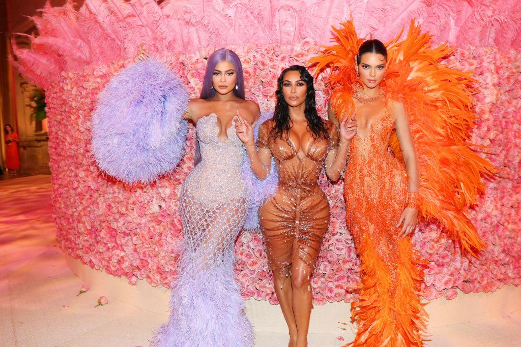Kylie Jenner, Kim Kardashian, and Kendall Jenner