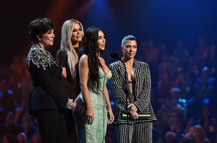 Kris Jenner, Kim Kardashian, Khloe Kardashian, and Kourtney Kardashian