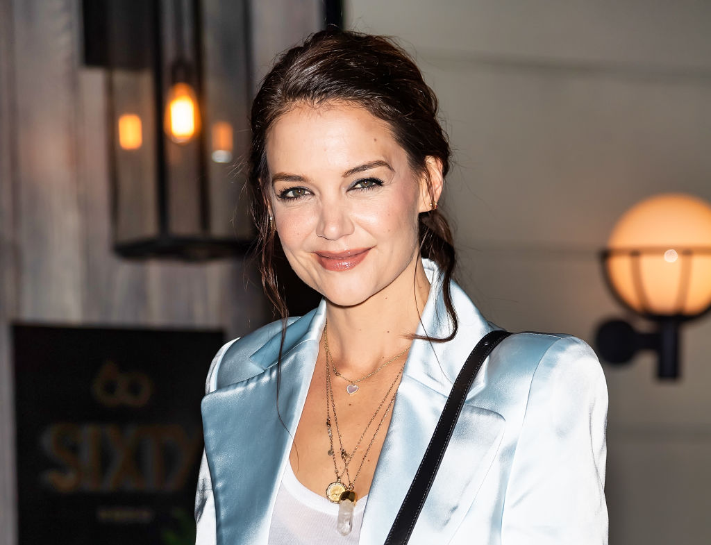 Katie Holmes in New York City