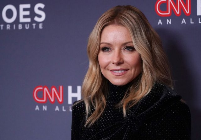 Kelly Ripa attends the 13th Annual CNN Heroes on Dec. 8, 2019
