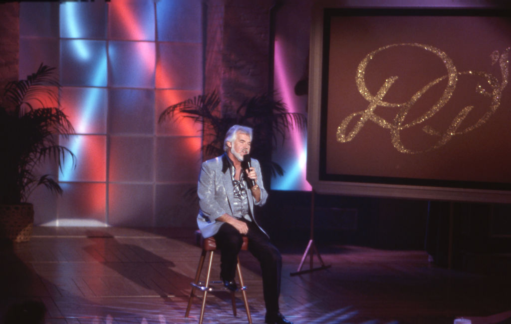 Kenny Rogers in 1987 | Bob D'Amico/Walt Disney Television via Getty Images