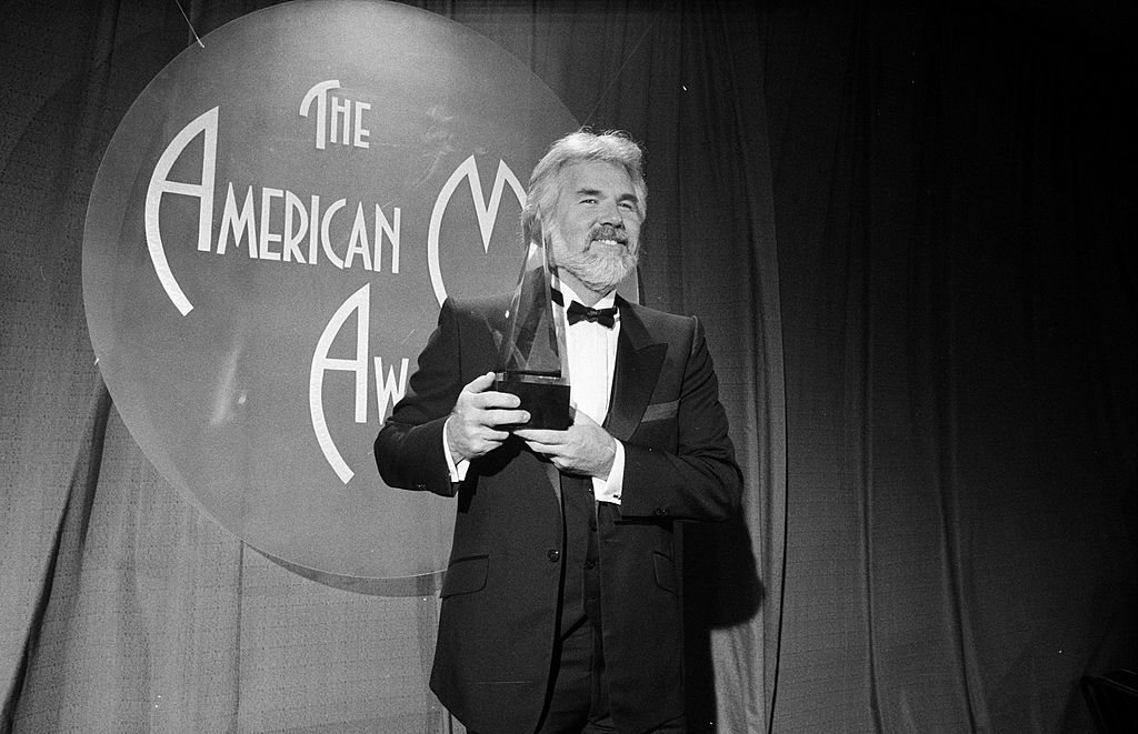 Kenny Rogers at The American Music Awards | The LIFE Picture Collection via Getty Images