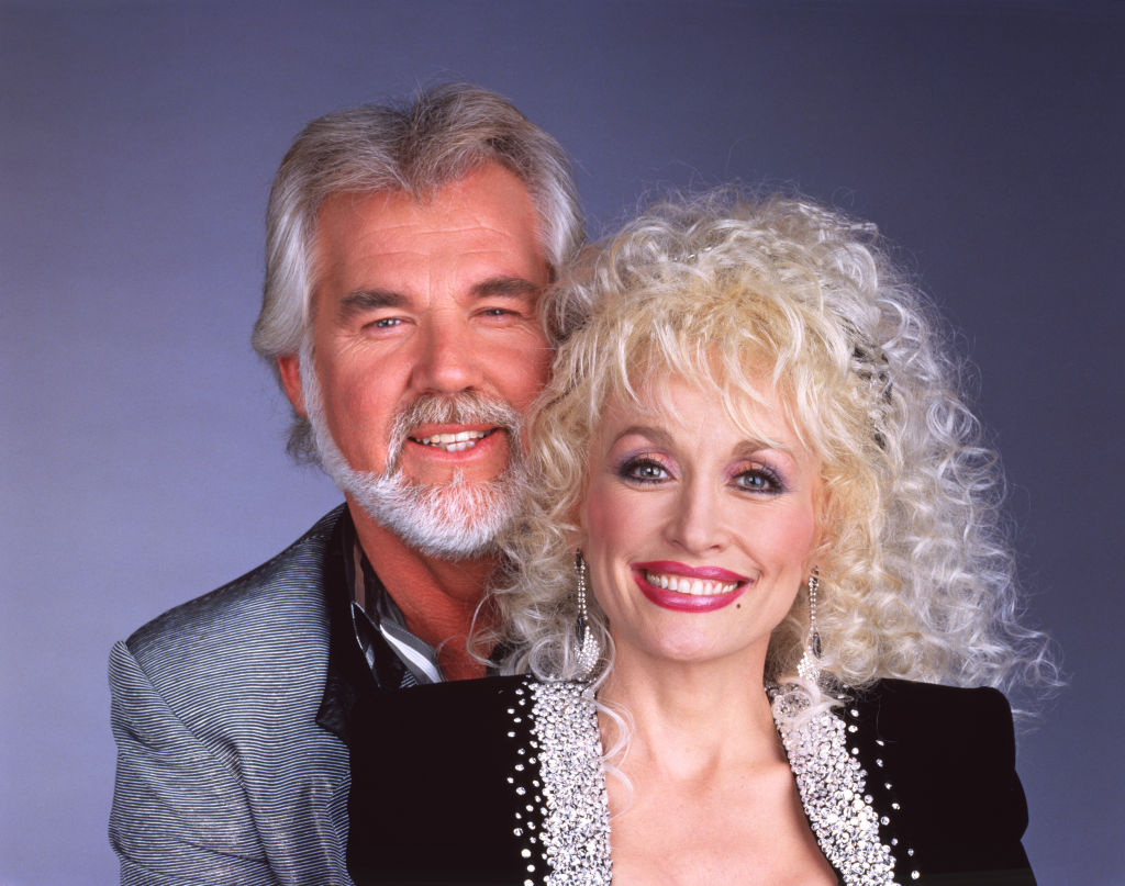Kenny Rogers and Dolly Parton in 1987 | Walt Disney Television via Getty Images