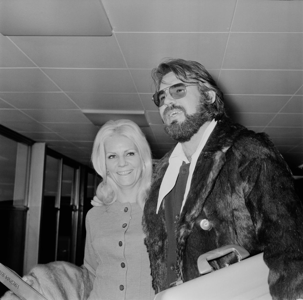 Kenny Rogers and Margo Anderson   Evening Standard/Hulton Archive/Getty Images