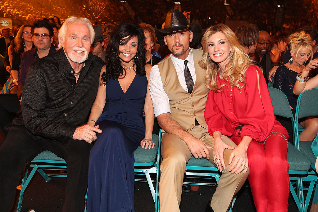 Kenny Rogers, Wanda Miller and Tim McGraw and Faith Hill | Christopher Polk/ACMA2012/Getty Images for ACM