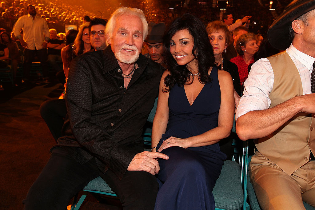 Kenny Rogers with his wife, Wanda Miller |  Christopher Polk/ACMA2012/Getty Images for ACM