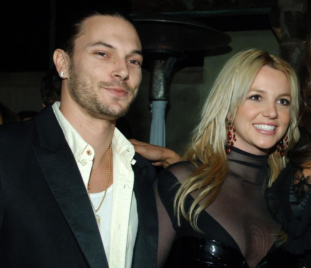 Kevin Federline and Britney Spears