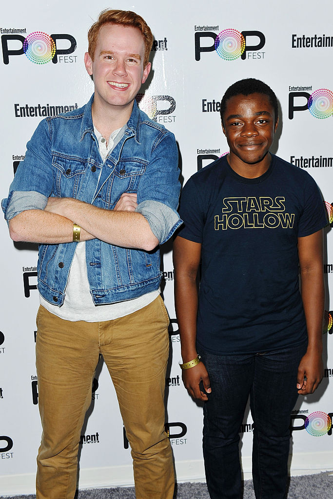 Kevin T. Porter and Demi A of Gilmore Guys