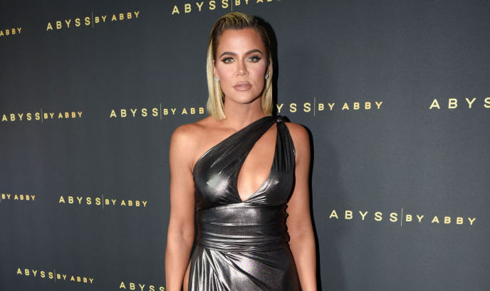 Khloé Kardashian at an event in January 2020