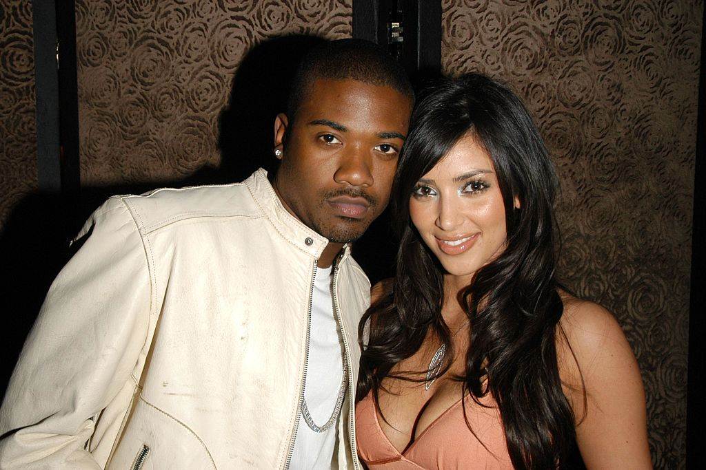 Kim Kardashian West and Ray J