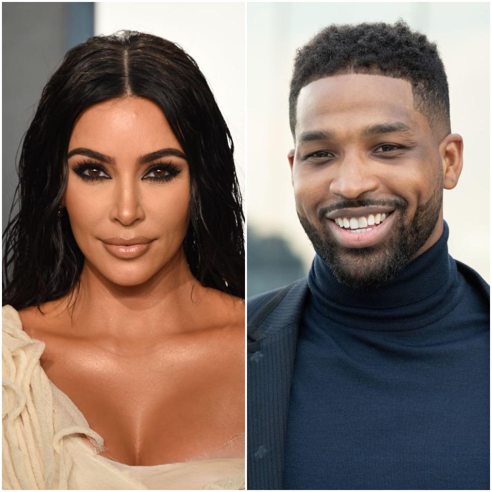 Kim Kardashian West and Tristan Thompson