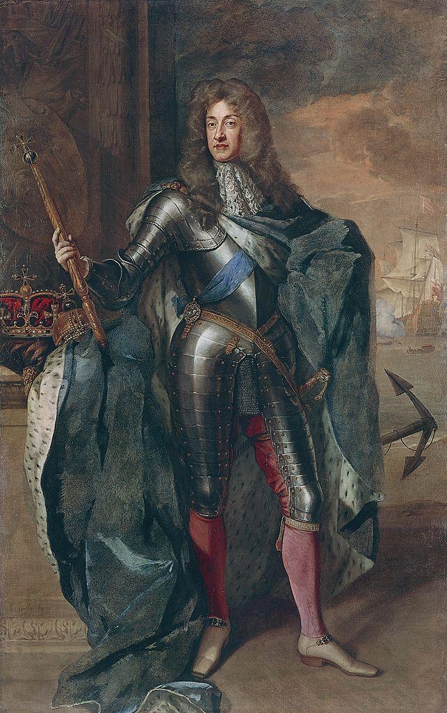 Portrait of James II Stuart by Godfrey Kneller