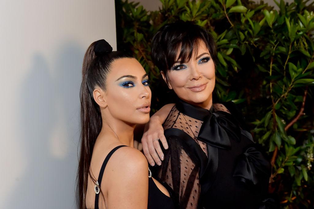 Kris Jenner and Kim Kardashian West attend KKWxMario Dinner at Jean-Georges Beverly Hills