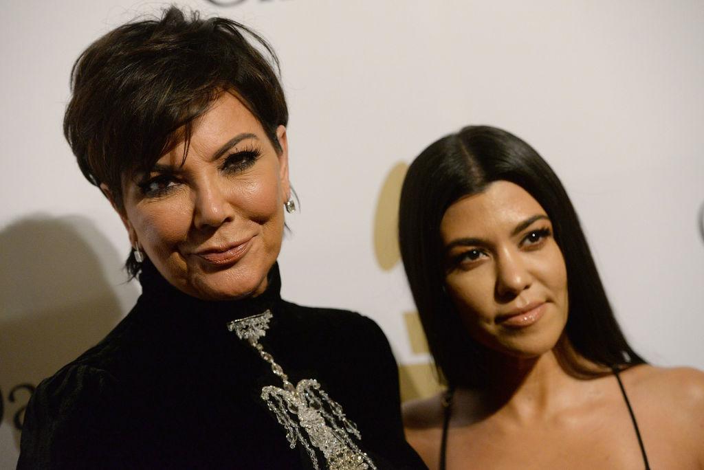 Kris Jenner and Kourtney Kardashian 2017 Pre-GRAMMY Gala And Salute to Industry Icons Honoring Debra Lee