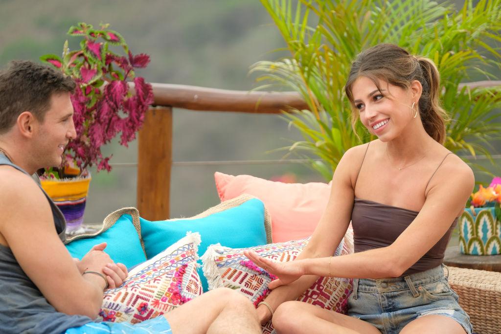 Blake Horstmann and Kristina Schulman on 'Bachelor in Paradise'