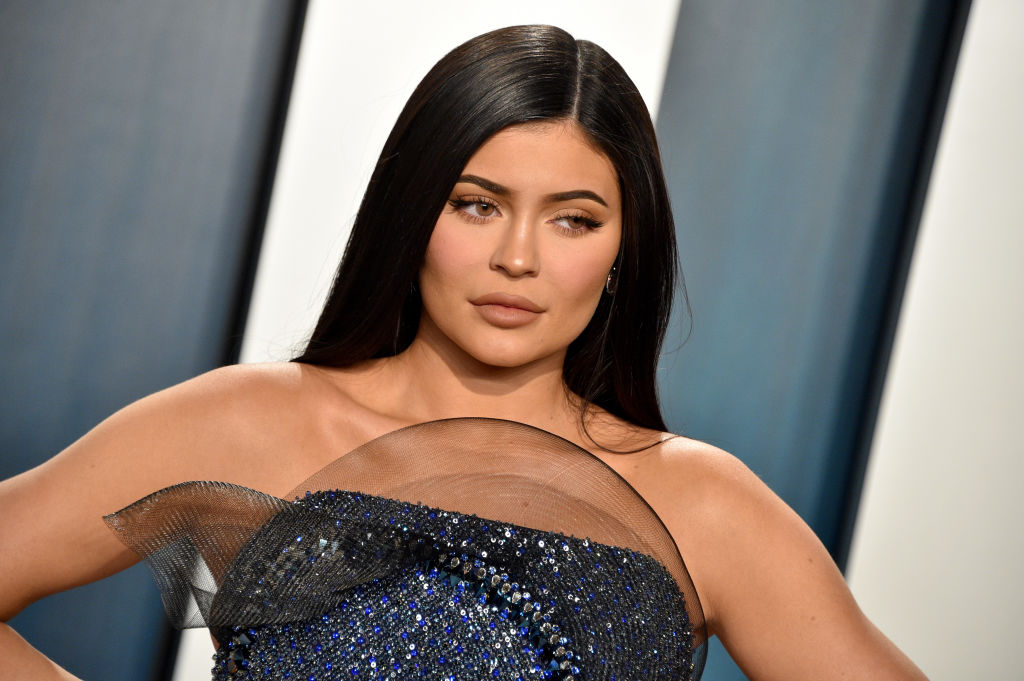 Kylie Jenner on the red carpet at an event in February 2020