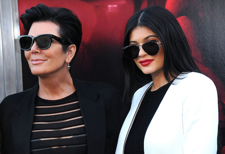 Kylie and Kris Jenner