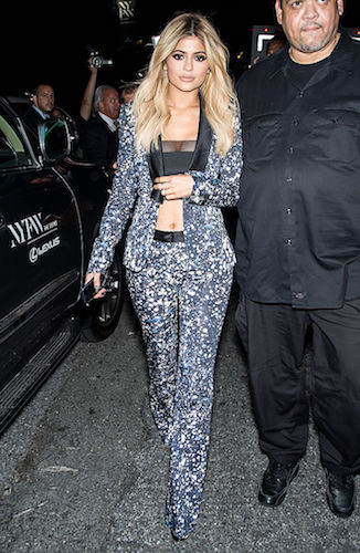 Kylie Jenner's blonde hair