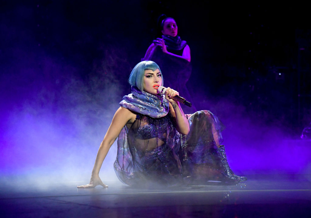 Lady Gaga | Kevin Mazur/Getty Images for AT&T