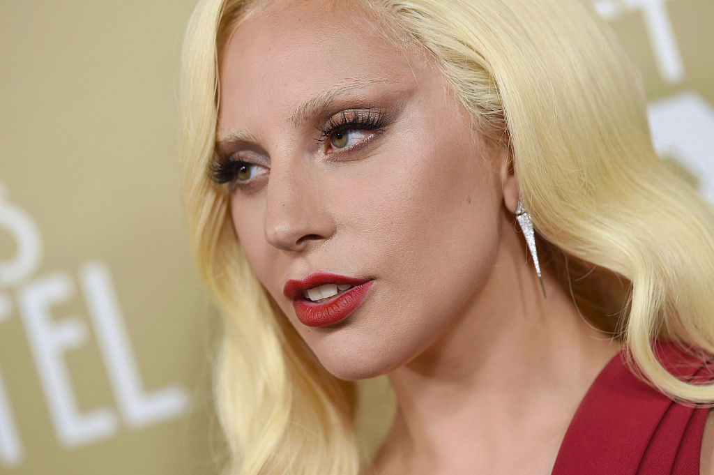 Actress/singer Lady Gaga arrives at the premiere screening of FX's 'American Horror Story: Hotel'