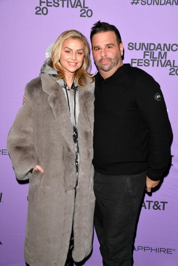Lala Kent and producer Randall Emmett attend the 2020 Sundance Film Festival