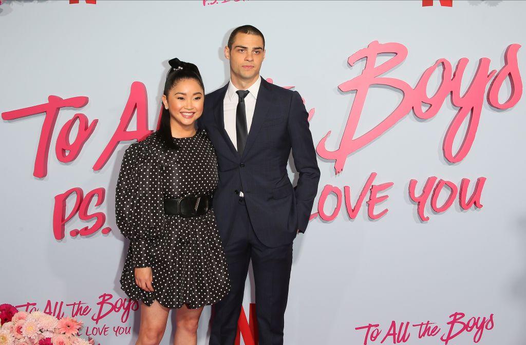 Lana Condor and Noah Centineo of 'To All The Boys: P.S. I Still Love You'