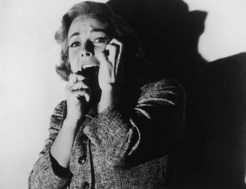 Vera Miles as Lila Crane in Psycho classic horror movie
