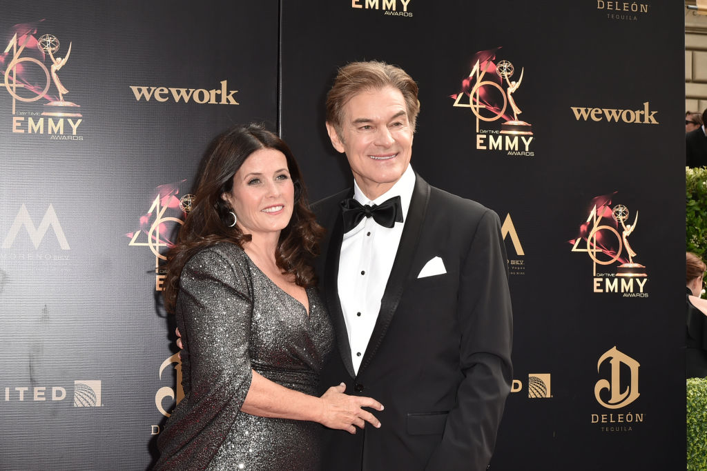 Lisa Oz and Dr. Mehmet Oz attend the 46th annual Daytime Emmy Awards